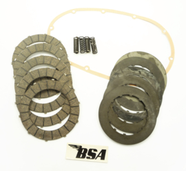 BSA B25-B50 Clutch repair kit, Partno. 57-2726, 57-2725, 71-1418, 40-3231