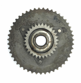 Jawa 350 Twin type 634 clutch sprocket duplex chain (47T) c/w starter wheel (4519 633 040)