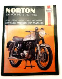 Norton 500-600-650-750 Haynes workshop manual