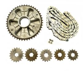 Jawa 350 Twin Californian 362 Chain & sprocket kit (573-22-028 / 591 00 014 / 591 56 410)