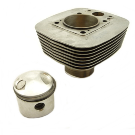 BSA B25 Starfire & C25 Barracuda Cylinder barrel c/w o.s. piston cmplt (40-949 + 40-970) (Alt 70-9263)