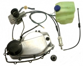 Jawa 350 cc twins Mikuni oilpump coversion kit complete (639 99 99)