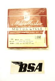 BSA B33-B34 Piston ring set