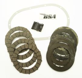 BSA B40-B44 Clutch repair kit, Partno. 40-3233, 40-3220, 41-3091, 70-7856