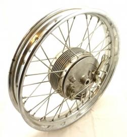 "Jawa / CZ front wheel 18"" cplt (451 9 622 51 110 / 487 56 100)"