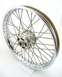 Norton Commando 750-850 front wheel assy, disc type, Dunlop rim (06-1950 / 06-6025)