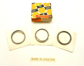 BSA A75 / Triumph T150-T160 Piston ring set +0.040 oversize, Partno. 70-3782 (R23020 +0.040)