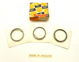 BSA A75 / Triumph T150-T160 Piston ring set +0.040 oversize, Partno. 70-3782 (R23020 +0.040)