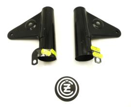 CZ Headlamp bracket L+R, Partno. 477-41-160 (165), 477-41-210 (220)