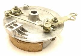 Jawa / CZ duplex front brake plate cplt. (472 51 260)