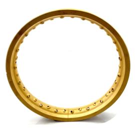 CCM Trails Akront alloy rear wheel rim  Gold anodised (TR 28)