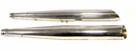Jawa 350 Twin 639-2 chopper, pair of genuine silencers  639 01 560 / 561