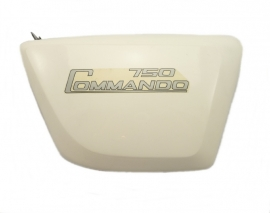 Norton Commando 750-850 Interstate side panel LH white (06-3505 / 06-3176 )
