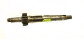 BSA-CCM B50MX Mainshaft + 1st Gear 18T (fixed) (57-4682)