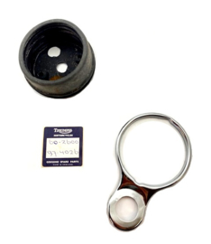 Triumph - BSA Rubber cup & bracket (60-2600 / 97-4026) for speedo & tacho mounting