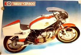 Yamaha YZR 500 genuine poster
