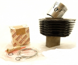 Royal Enfield 350 cylinder - barrel + piston assy (144068)