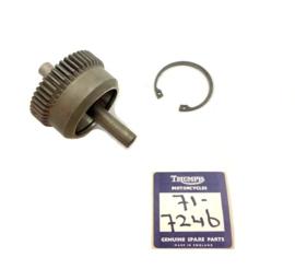 Triumph Intermediate gear + spindle (71-7246)