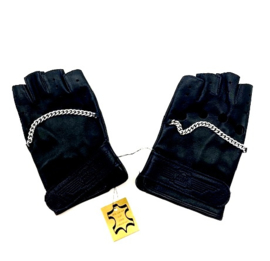 Royal Enfield Pair of real leather Re-Bikers Gloves  size M-L