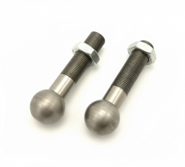 Universal sidecar fixing strut ball type complete (set of 2)