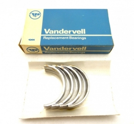 "Triumph / BSA triples    Main bearing shells    genuine Vandervell   .030""us     70-9029  VP91495"