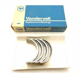 "Triumph / BSA triples    Main bearing shells    genuine Vandervell   .030""us     70-9029  VP91495"