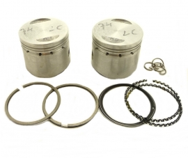 Dunstall Commando 750 piston set LH + RH made by G.P.M.