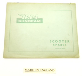 BSA Sunbeam scooter parts catalogue, Partno. 00-5103