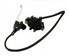 Kawasaki W 650 Disk-brake assy, Mastercylinder, hose and calipa