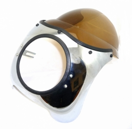 Speed 7 headlamp-cowling flyscreen