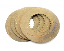 Norton Commando 750 clutch friction plates (fibre) set of 4 (06-1339)