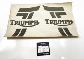 Triumph Tiger Trail 750 TR7T Tank transfer set, Partno. 60-7442-3-4-5-6