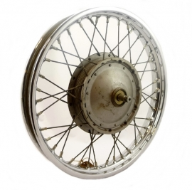 Triumph / BSA  rim (Jones) spokes & hub essembly (37-3405)
