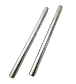 BSA B50 MX Victor 500 Fork stanchions hard chrome (97-4455)
