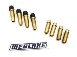 Weslake 8-valve twins Valve guide set (8x), Partno. W147-W146