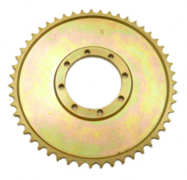 EML sidecar cross Rear wheel sprocket steel, anodised 530 chain 51T