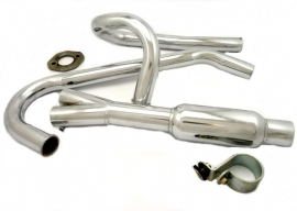 Exhaust - system complete for Yamaha - Wasp motocross sidecar-outfit RH
