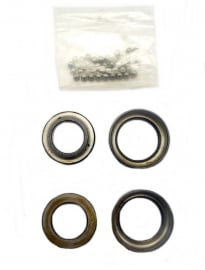 BSA A - B - M types steering head bearings set complete (66-4149 / 65-5126)