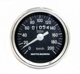 Moto Morini 350 Contachilometri Veglia speedometer tacho (460304)