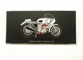 Wall plaque Triumph Trident '' Slippery Sam''