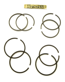 Benelli 750 Sei + 500 Quattro, set of 4 piston rings, oversize (62060702/62061102)