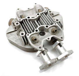Triumph T100 T110 Bespoke Manifolds for fitting twin Amal carbs