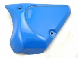 BSA B44 VS side panel fibre glass LH, blue with striping (41-9159)