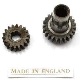 4th gear set, Partno. 06 1057 + 06 1058