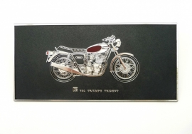Wall plaque Triumph Trident 750 T160