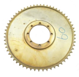 EML sidecar cross Rear wheel sprocket steel, anodised 530 chain 54 - 56 - 60T