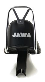 Chopper-type seat & sissy-bar (black), replaces opn. 210 73 000