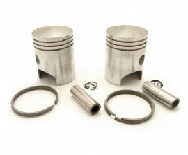 Jawa 350 Twins 638 - 639 - 640 - 641 piston set complete LH + RH (63812050 - 63812055)
