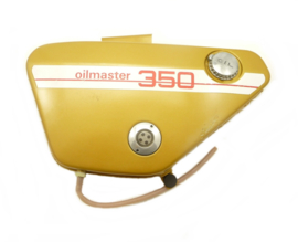 Jawa 350 Twin type 634 Oilmaster  Oiltank complete with fittings (Golden) (4519 634 38 010)
