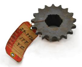 BSA C11G Gearbox sprocket 17T for 3-speed gearbox only, Partno. 29-3432